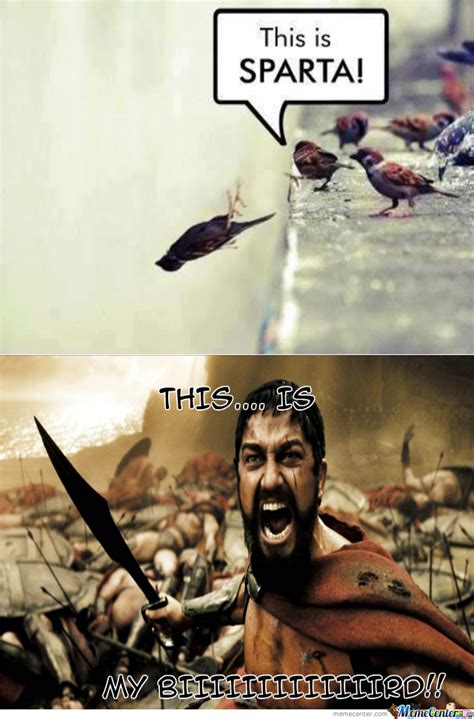 Leonidas Meme - king leonidas bird by amourous meme center