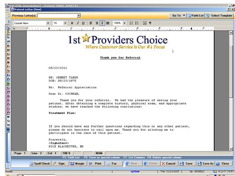 Insurance Emr Letter Dermatology Emr Software Electronic Health Records For Dermatologists