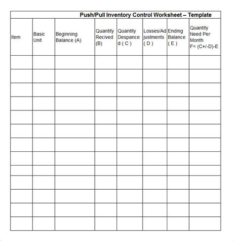 inventory card template 15 stock inventory templates word excel pdf templates