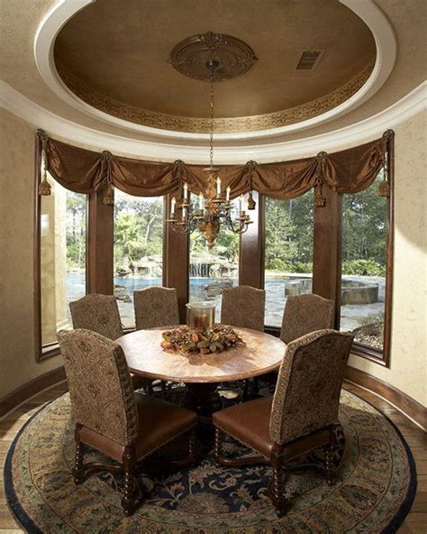 Mediterranean Dining Room Design Pictures Remodel Decor Dining Room Remodel Ideas