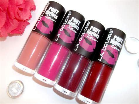 Diskon La Colorspout Matte Lipgloss 7 matte lipstick di bawah 50 ribu dari orami