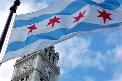 why is chicago s flag so popular patriot wood