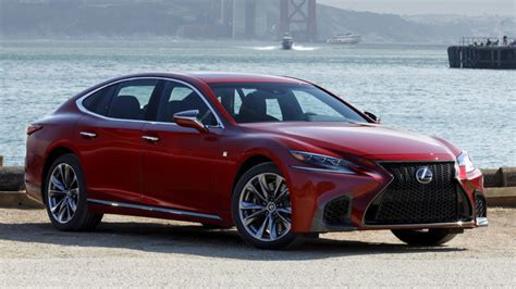 lexus is f sport 2018 2018 lexus ls 500 f sport luxury sedan review autoblog