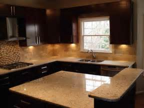 Kitchen installing resin countertops for glowing kitchen design