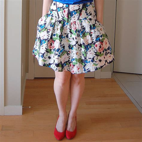 pattern sewing skirt sewaholic crescent skirt dressmaking pattern