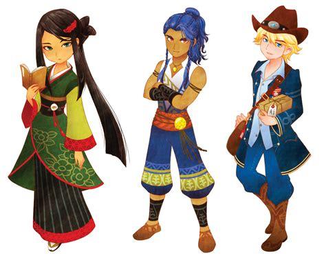 Kaset Nintendo 3ds Story Of Seasons Trio Of Towns story of seasons trio of towns nintendo 3ds jeux