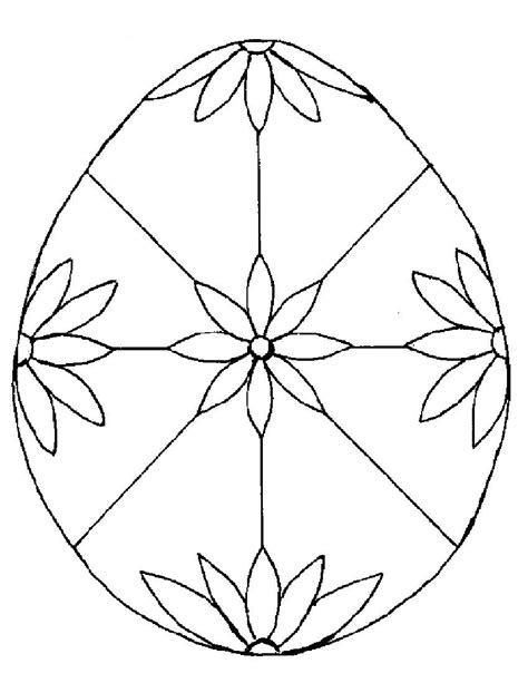 egg design coloring page easter pages to color coloring part 9