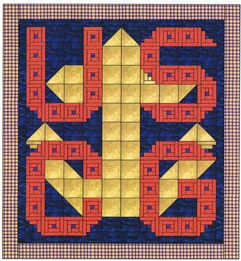 United States Quilt by United States Coast Guard Quilt Kit Quilting