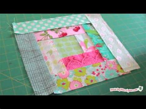 How To Make A Log Cabin Quilt Block by Log Cabin Quilt Block Tutorial