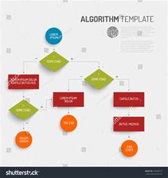 Algorithm Template by Abstract Algorithm Vector Template Flat Design Stock