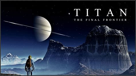 saturn s largest moon nasa will take the human race to titan saturn s largest moon