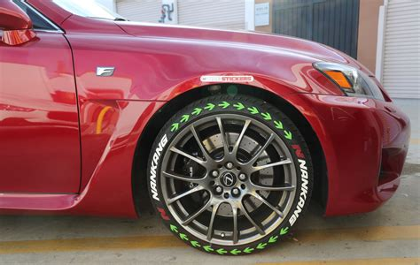 Sticker Letters For Walls nankank tires white lettering green arrows tire