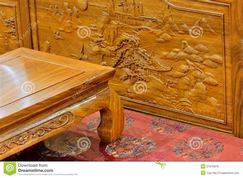 traditional chinese furniture chinese style chinese traditional wooden furniture royalty free stock