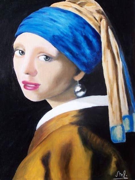 comprar cuadro la joven de la perla cuadros la joven de la perla marife ortega tobaruela artelista com