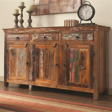accent chests cabinets coaster accent cabinets 950367 rustic cabinet w doors