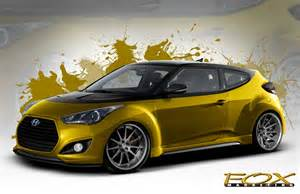 fox marketing hyundai veloster turbo set for sema