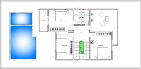 planta baixa modelo de projeto arquitet 244 nico de um sobrado piscina