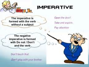 Imperative Imperatives