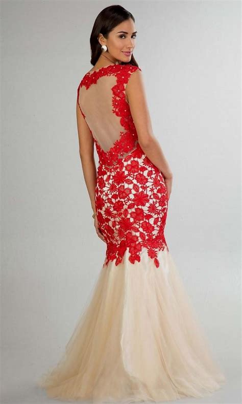 prom dresses red and white Naf Dresses