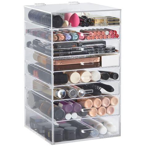 Makeup Organizer beautify 8 tier clear acrylic cosmetics makeup storage