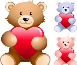 teddy bears with hearts cute teddy bears with hearts stock free images