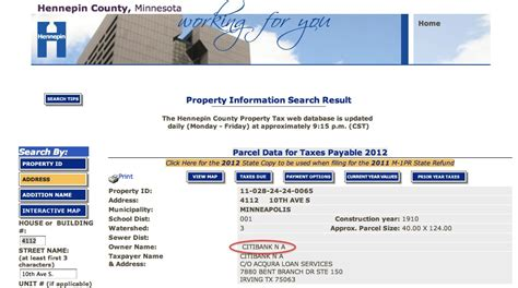 Hennepin County Property Tax Records Us Minnesota
