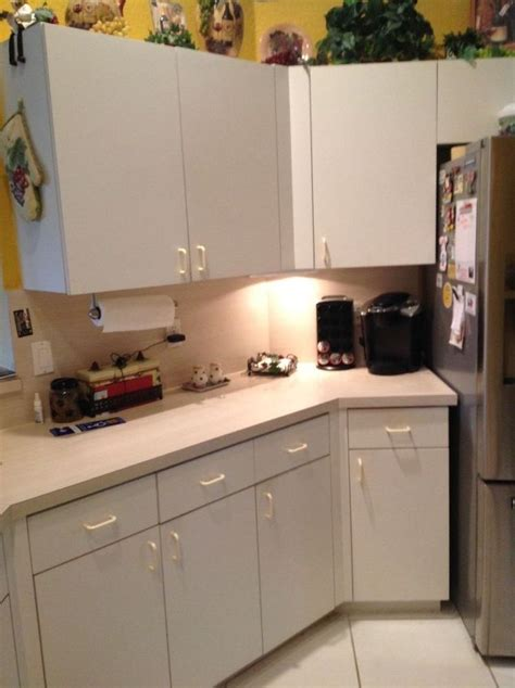 Updating Laminate Kitchen Cabinets How Can I Update My Plain White Formica Cabinets Plz Help Hometalk
