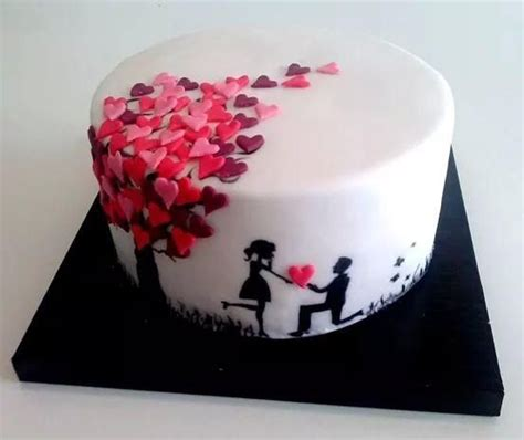 Simple Cake Decoration At Home by Some Cute Engagement Cakes Engagement Cakes Ideas
