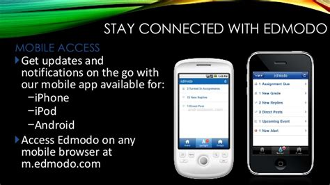 edmodo notifications on iphone effective use of technology in the classroom