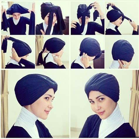 tutorial hijab turban praktis tutorial hijab turban super mudah dan praktis