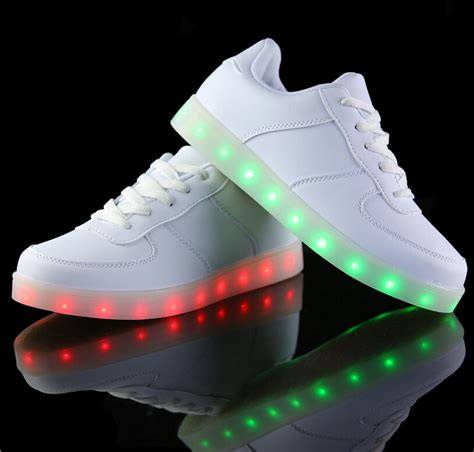 waterproof light up shoes high quality led shoes for men fashion light up casual