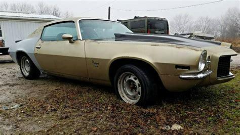 73 camaro split bumper split bumper delight 1973 chevrolet camaro rs