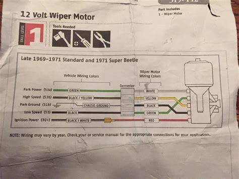 doga wiper motor wiring diagram repair wiring scheme