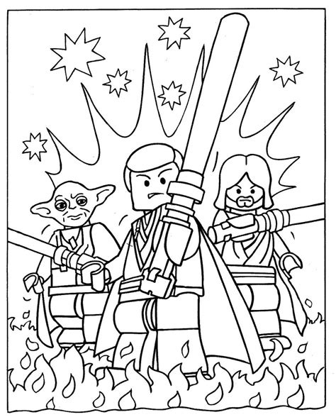 Free Coloring Pages Of Lego Birthday Card Lego Colouring Pages For