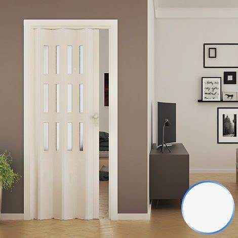 porte interno vetro porta a soffietto da interno in pvc mod luciana vetro