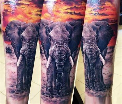 full body elephant tattoo 55 wonderful african animal tattoo designs african