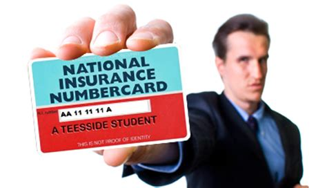 national insurance number card replacement application