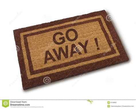 Go To The Mats by Go Away Not Wanted Stock Photo Image 8130860
