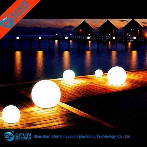 light up balls outdoors waterproof outdoor led light up swimming pool floating led