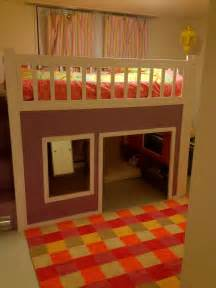 Loft Bed Playhouse White Playhouse Loft Bed Diy Projects