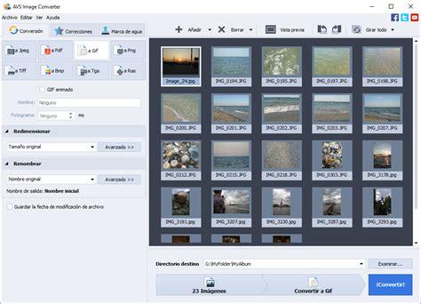 convertir imagenes tif a pdf avs image converter conversor poderoso de im 225 genes