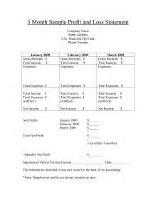real estate profit and loss statement template doc 700860 profit and loss statement free templates