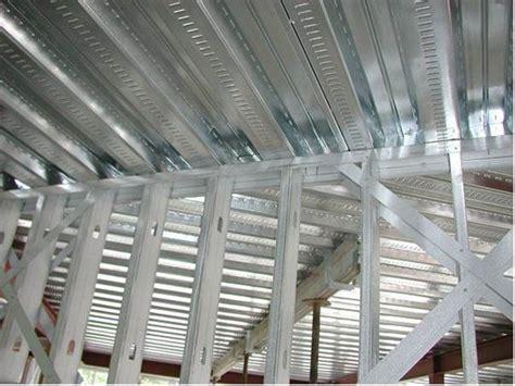 light gauge steel deck framing building big with steel frames poppers senco