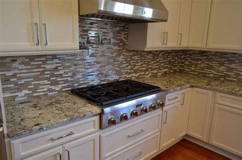 Granite Countertops Metairie La by Metairie Projetct Alaska White Granite Kitchen
