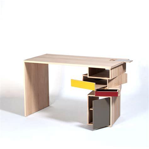 rangement bureau design bureau en bois massif design empil par drugeot labo