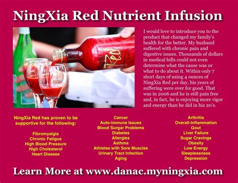Ningxia Detox by My Family Uses Ningxia To Stay Healthy Boost Our