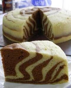 membuat bolu zebra resep bunda bolu zebra kukus