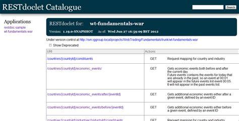 restful api documentation template rest web service api documentation using restdoclet soa