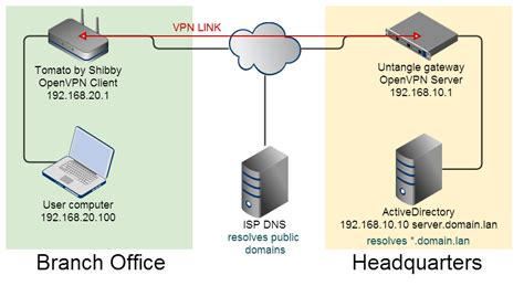 vpn forwarding forward domain dns queries openvpn with tomato