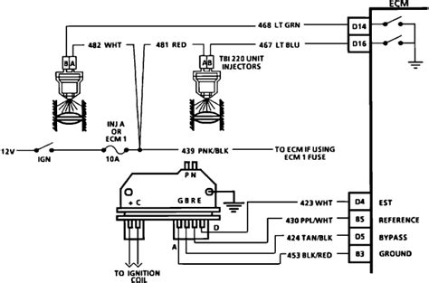 94 s10 coil and distributor wiring diagram get free